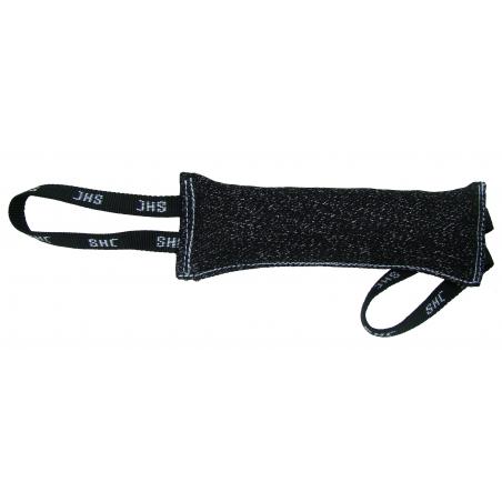 Saculet de muscatura ( tug ) pentru caini , din material francez