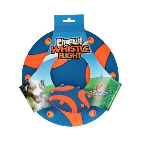 Frisbee sonor pentru caini Chuckit Whistle Flight